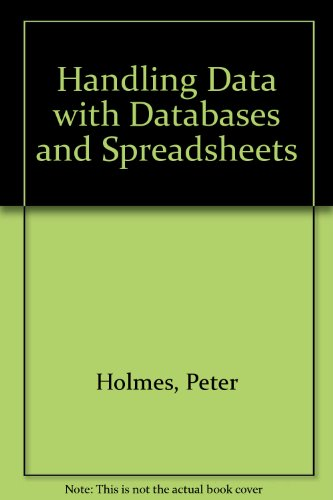 9780340589717: Handling Data With Spreadsheets