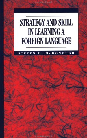 9780340591093: Strategy and Skill in Learning a Foreign Language