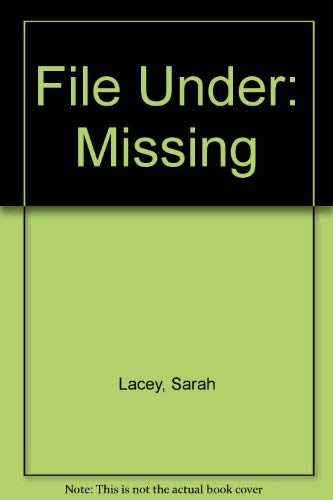 9780340591765: File Under: Missing (Signed)