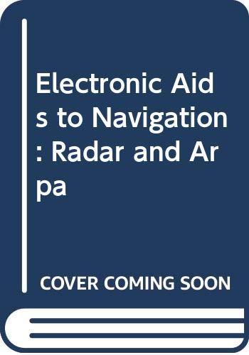 9780340592588: Electronic Aids to Navigation: Radar