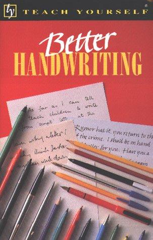 9780340592878: Better Handwriting (Teach Yourself)