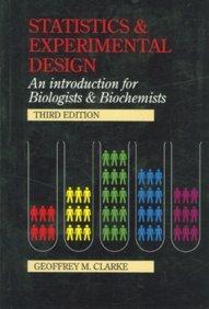 9780340593240: Statistics and Experimental Design