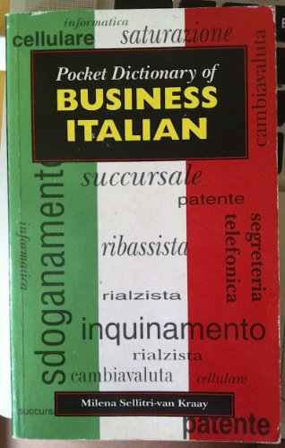 9780340595749: Pocket Dictionary of Business Italian (Pocket dictionaries)