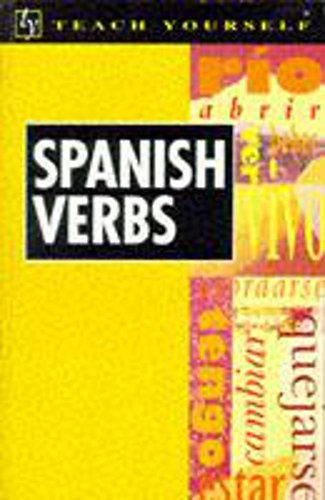 9780340598184: Teach Yourself Spanish Verbs New Edition (TYL)