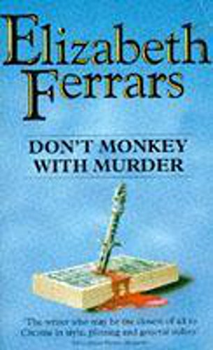 9780340607510: Don't Monkey with Murder