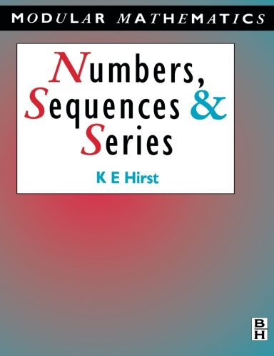 9780340610435: Numbers, Sequences and Series (Modular Mathematics Series)