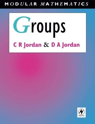 9780340610459: Groups - Modular Mathematics Series