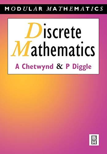 9780340610473: Discrete Mathematics (Modular Mathematics Series)