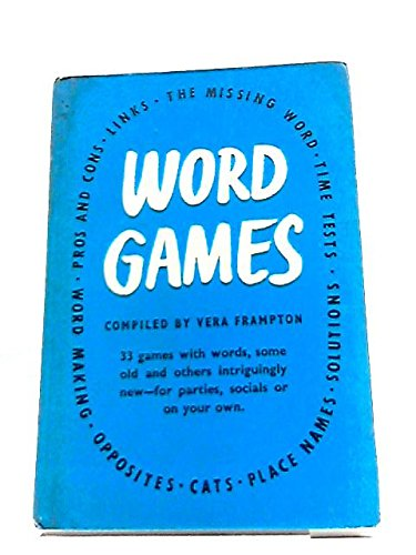 9780340611333: Word Games
