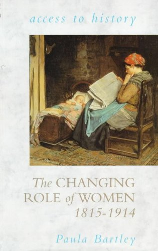 women role western society between 1815 and 1914