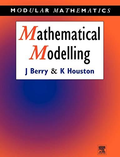 9780340614044: Mathematical Modelling (Modular Mathematics Series)