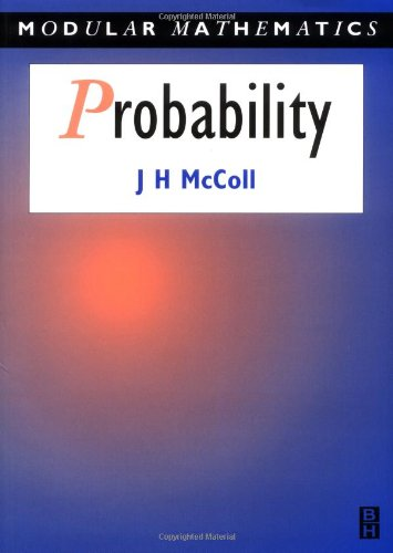 Probability - Modular Mathematics Series [Paperback] [May: Mccoll