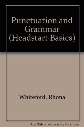 9780340616512: Punctuation and Grammar (Headstart Basics)