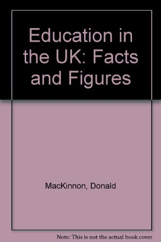 9780340621011: Education in the UK: Facts and Figures