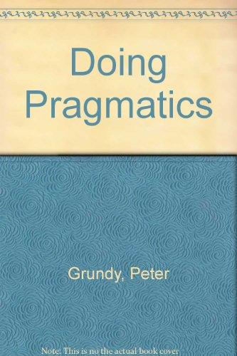 9780340625149: Doing Pragmatics