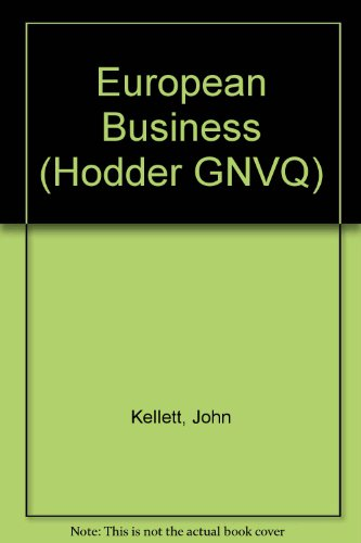 European Business: Kellett, John
