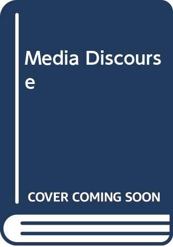 9780340632222: Media Discourse