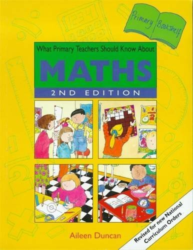 9780340643778: What Primary Teachers Should Know About Maths (Primary Bookshelf)