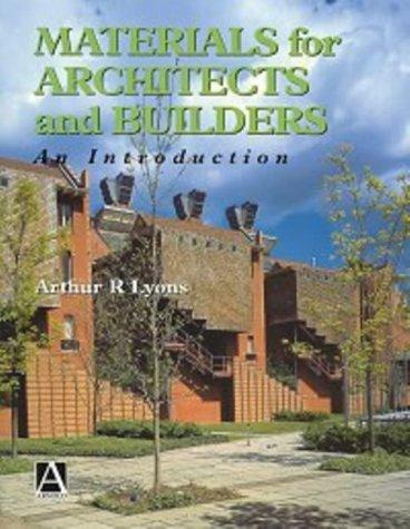 Beispielbild für Materials for Architects and Builders : An Introduction zum Verkauf von Better World Books