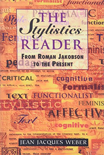 9780340646212: The Stylistics Reader: From Roman Jakobson to the Present (Hodder Arnold Publication)