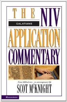 9780340651988: Galatians (NIV Application Commentary)