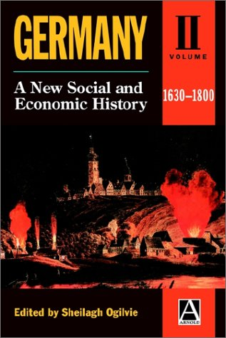 9780340652169: Germany: A New Social and Economic History Volume 2: 1630-1800 (Germany Vol. 2)