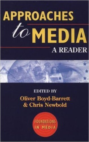 9780340652305: Approaches to Media: A Reader (Foundations in Media)
