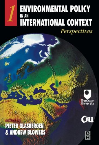 9780340652619: Environmental Policy in an International Context: Perspectives: Volume 1