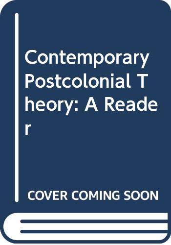9780340652893: Contemporary Postcolonial Theory: A Reader