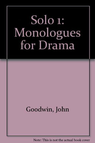 9780340655306: Solo 1: Monologues for Drama