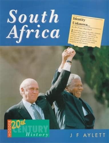 9780340658598: South Africa (Hodder Twentieth Century History Series)