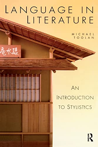 9780340662144: Language in Literature (Hodder Arnold Publication)