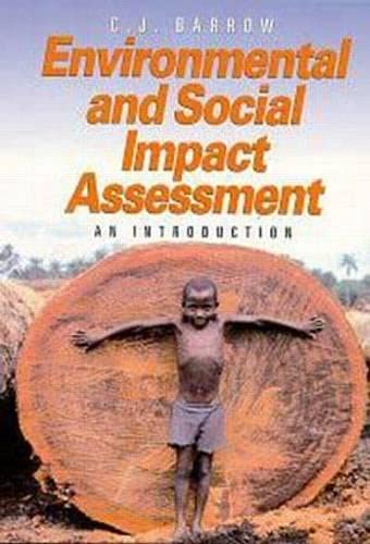 9780340662717: Environmental and Social Impact Assessment: An Introduction (Hodder Arnold Publication)