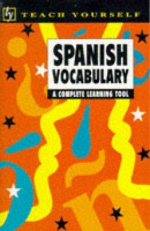 9780340663721: Teach Yourself Spanish Vocabulary (TYL)
