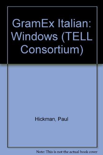 GramEx Italian (PC): Windows (TELL Consortium) (0340669551) by Paul Hickman