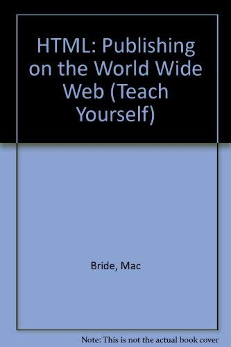 teach yourself html by mac bride