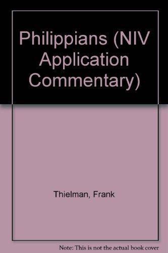 9780340671122: Philippians (NIV Application Commentary)