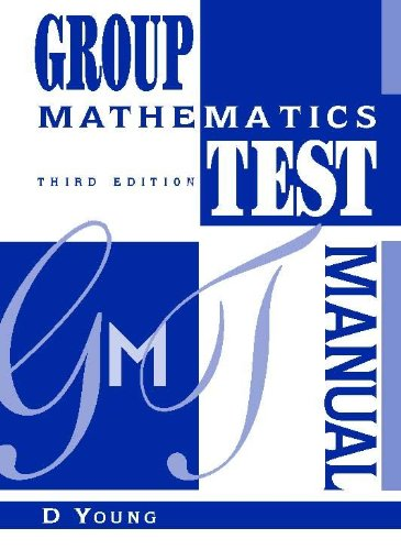 9780340673157: Group Mathematics Test Manual (Group Maths Tests)