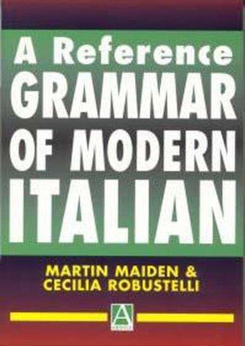 9780340676370: Reference Grammar of Modern Italian (McGraw-Hill Edition): A Reference Grammar of Modern Italian