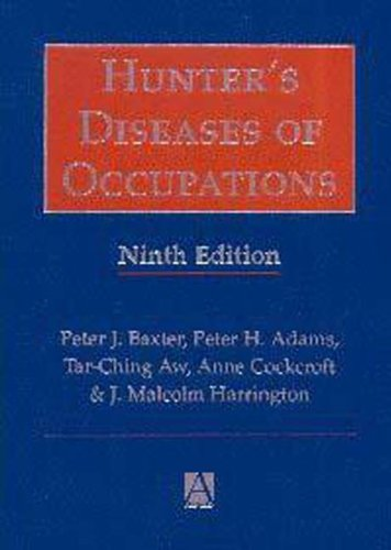 9780340677506: Hunter's Diseases of Occupations, 9Ed