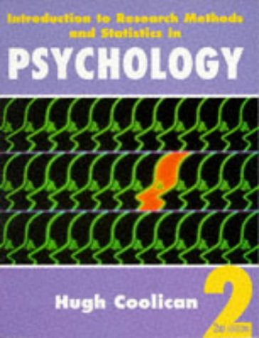 9780340679371: Introduction To Research Methods and Statistics in Psychology