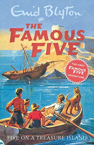 five on a treasure island book report Julian, dick and anne are spending the holidays with their tomboy cousin  george and her dog, timothy one day, george takes them to explore nearby  kirrin.