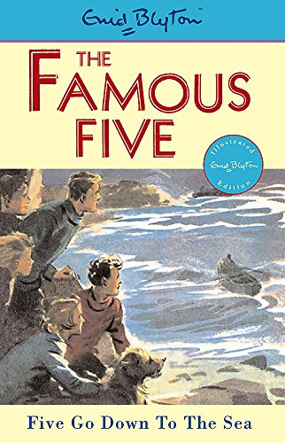 9780340681176: Famous Five: Five Go Down To The Sea: Classic cover edition: Book 12