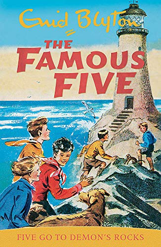 9780340681244: Famous Five: Five Go To Demon's Rocks: Classic cover edition: Book 19