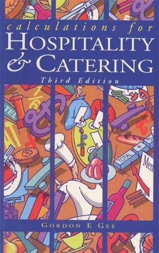 9780340683453: Calculations for Hospitality & Catering