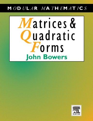 9780340691380: Matrices and Quadratic Forms