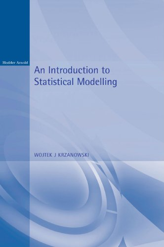 9780340691854: An Introduction to Statistical Modelling (Arnold Texts in Statistics)
