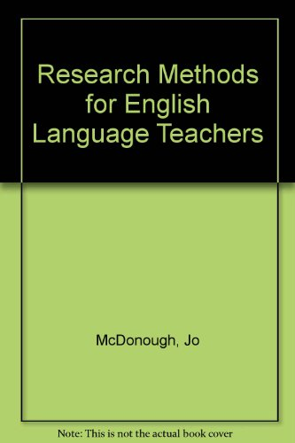 9780340692233: Research Methods for English Language Teachers
