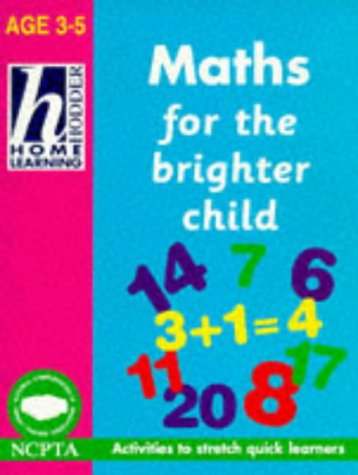 9780340693827: Home Learn 3-5 Math Bright Child (Hodder Home Learning)