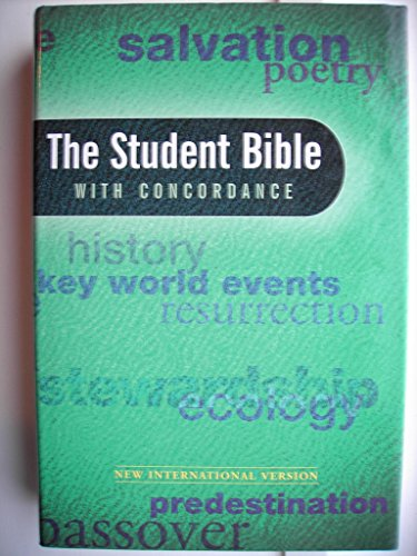 9780340694145: The NIV Student Bible: WITH Concordance
